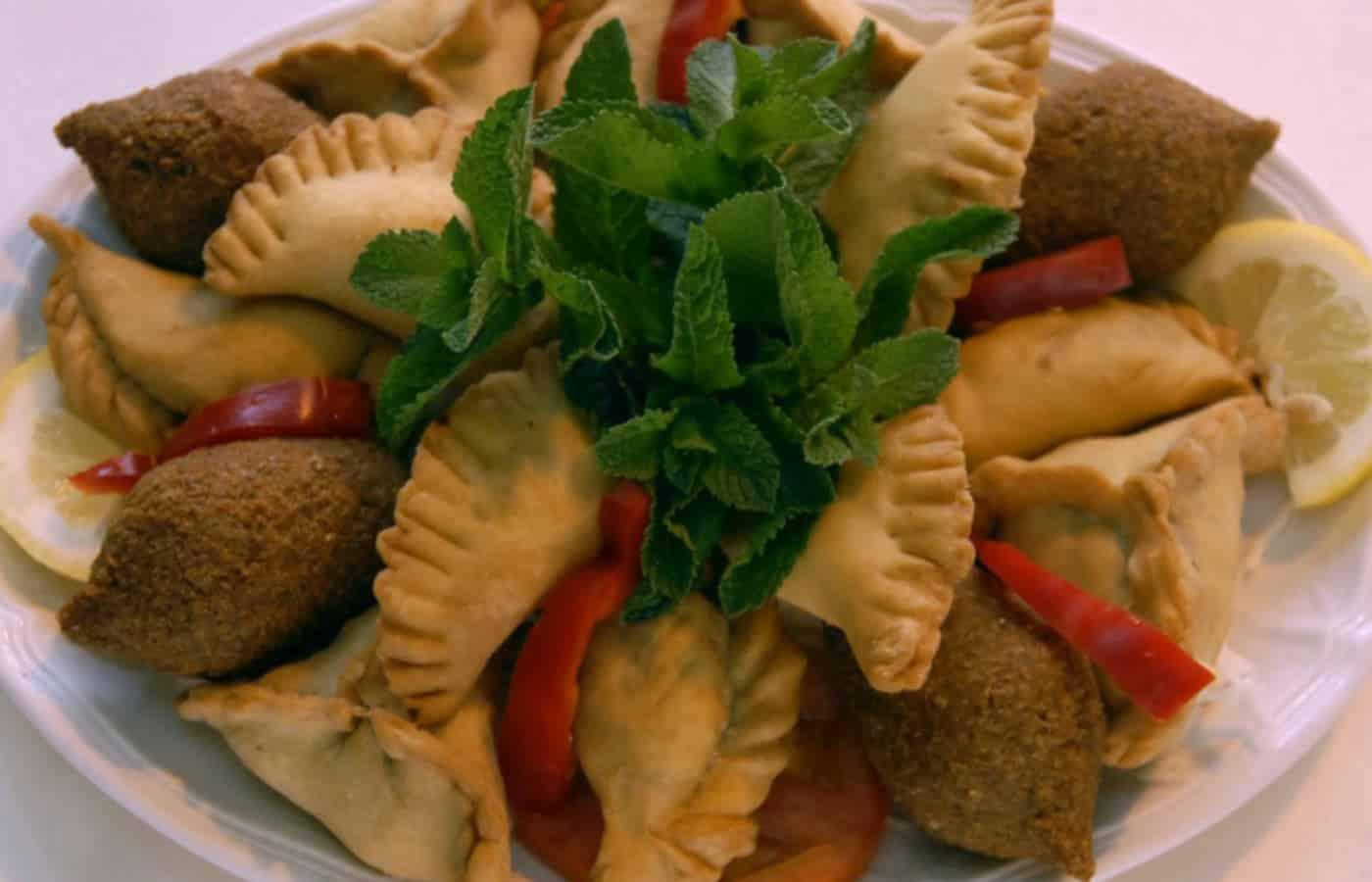 Carte Menu Restaurant Libanais