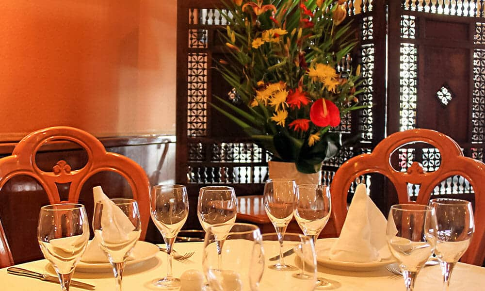 table restaurant libanais paris