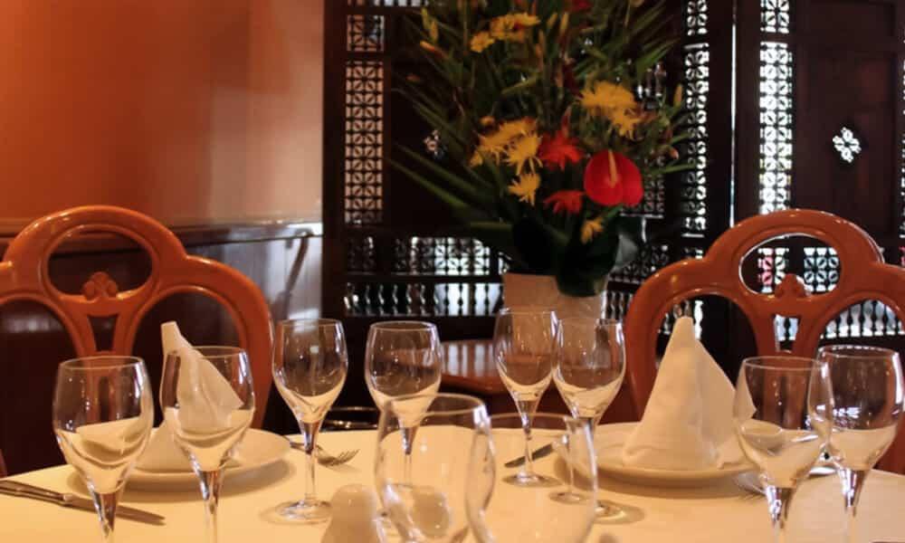 Table Al-Wady Restaurant Libanais Paris 15 éme