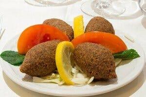 Boulles Kibbeh du restaurant de gastronomie libanaise : Al Wady
