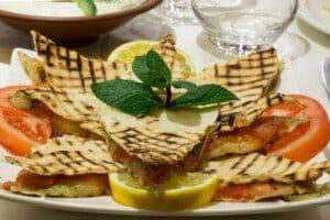 Kellaje entrée chaude du restaurant Libanais Al Wady à Paris