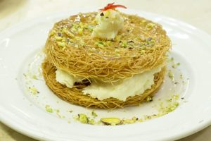 Al WADY Restaurant libanais Paris Osmallia desert libanais